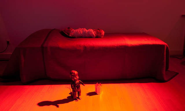 Leif Elggren: Under the Bed - Performance sonore